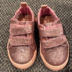 TOMS Lenny Metallic Glitter Sneaker